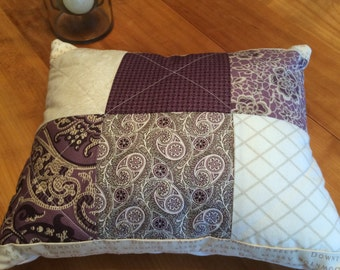 Downton Abbey Quilted Pillow
