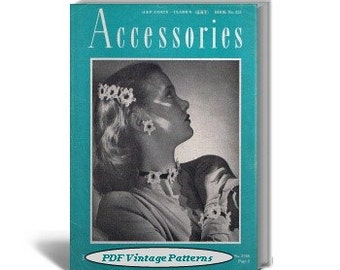 Accessories to Crochet, Coats & Clark Book No.221