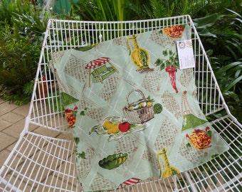 Barkcloth Cushion Cover (491)
