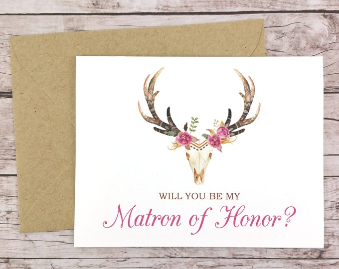 Will You Be My Matron of Honor Card (FPS0044)