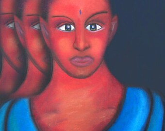 Kudu - Peaceful Warrior 60 x 90cm Quality Print on Canvas