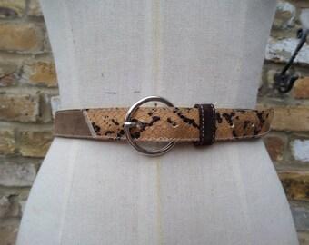 80s / 90s italian designer belt.