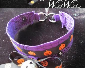 Simple Spider Pumpkin Collar