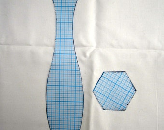Template for curvy vase
