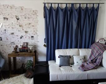 Washed Linen Drapes, Linen Curtains, Sustainable fashion, Ethical closet, Slow fashion