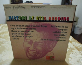 Vintage 1967 Vinyl LP Record Otis Redding History of Otis Redding Very Good Condition 16816