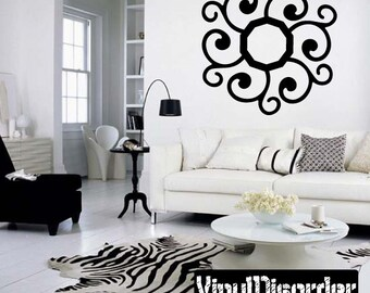 Snowflakes Vinyl Wall Decal Or Car Sticker - Mv025ET