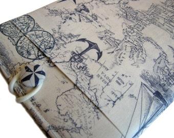 Macbook Air Case, Macbook Air Sleeve, 13 inch Macbook Air Cover, 13 inch Macbook Air Case, Laptop Sleeve, Maps