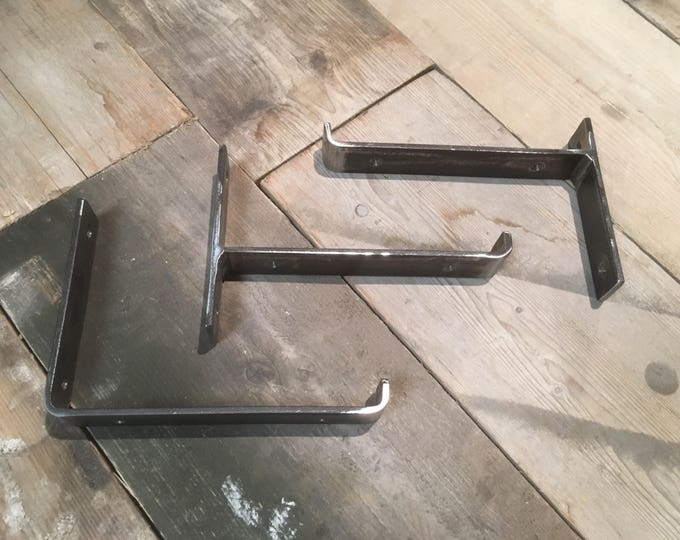 shelf bracket X1 / sizes 150mm to 350mm /industrial shelf bracket / price per single bracket  / steel brackets FREE UK DELIVERY