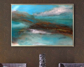 abstract painting original acrylic