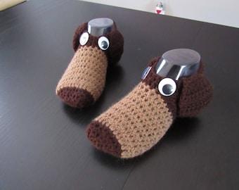 Doggy Crochet Slippers