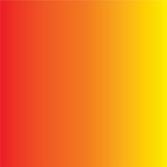 Red Orange And Yellow Ombre Print Craft Vinyl Sheet Htv Or