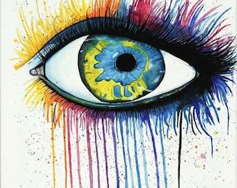 Watercolor Eye