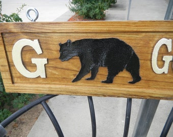 Street Sign, Hand Carved, Wooden, Directional, Custom Designed,  Mail Box, WallPlaques, Address Sign, UV Finish, Decorative, Permanent,