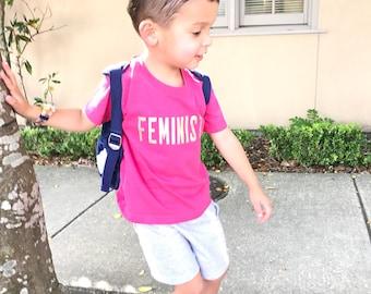 Feminist Shirt, Kids Clothes, Kids Feminist Shirt, Kids T-Shirt, Kids Shirt, Feminist Kid