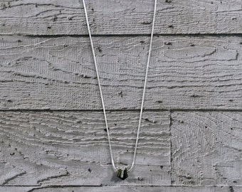 Nuts Pendant - Brass & Steel - Mixed Metals - Lightweight Pendant - Giftboxed