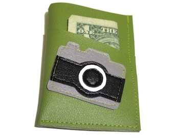 Camera ) Mini Card Wallet