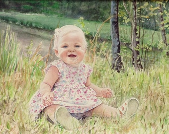 Custom Portrait- One Subject -Detailed, Realistic, Original Painting | Drawing- From Your Favorite Photo
