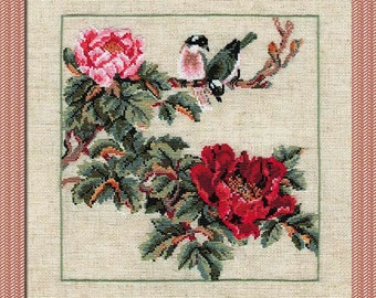 Counted Cross stitch kit from Riolis collection - flowers
