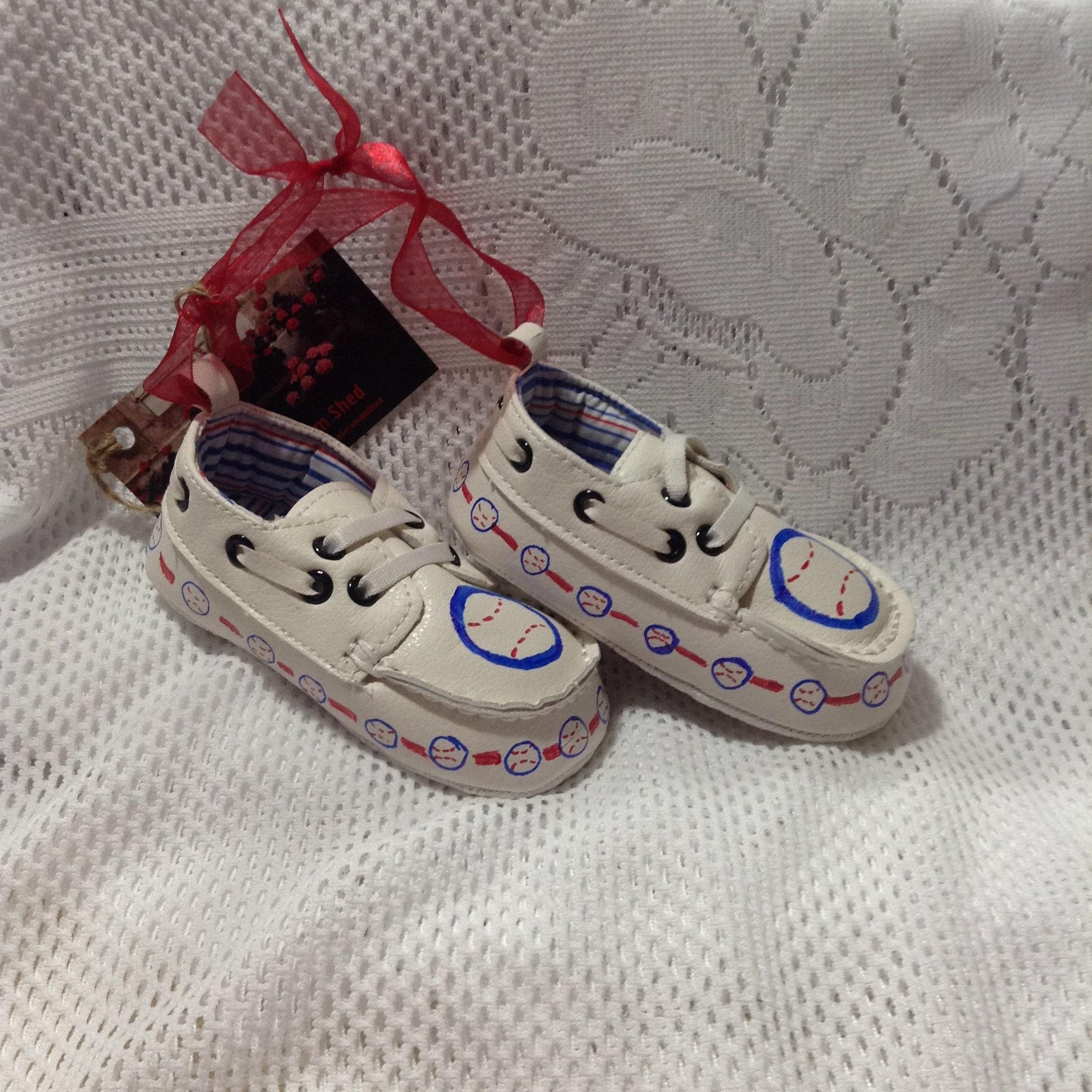 Keepsake Baby Shoes Baby Boy Baseball Baby