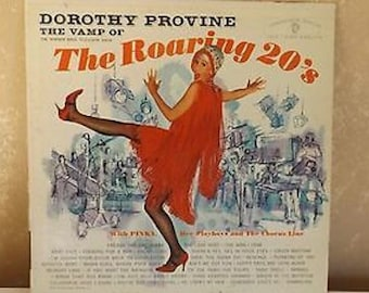 Vintage LP Record Dorothy Provine The Vamp of The Roaring 20's 1961  R-21