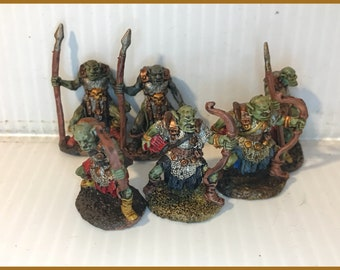 Goblin Archers and Pikemen
