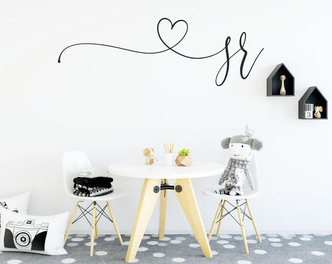 Name Wall Decal, Nursery Art, Nursery Name Sign, Nursery Decor, Vinyl Decal, Baby Girl Name Signs, Nursery Wall Decal, Personalized Baby