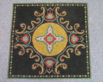 Handpainted Needlepoint Canvas-14 counts
