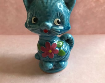 Vintage retro cat figurine