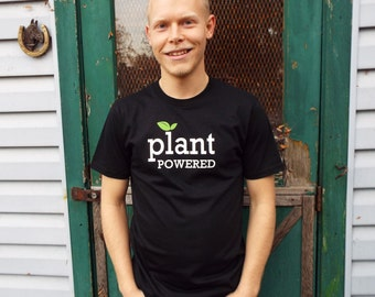 Plant Powered T-shirt for Men