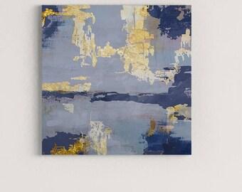 Blue Abstract Art, Large Canvas Art, Abstract Painting Print, Abstract Art Canvas, Large Abstract Painting, Abstract Wall Art Print