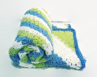 crochet blanket, baby blanket, crochet baby blanket, afghan, throw, crochet throw, crochet afghan, baby shower gift, lap blanket, blanket,