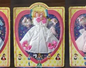 5x Sailor Moon Wedding Princess Doll Dress - Serenity , Mercury , Mars , Jupiter & Venus - Sailor Moon Manga Anime