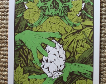 Serigraphy Hop God