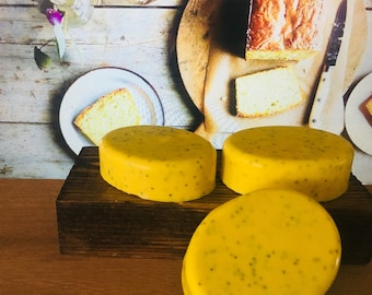 Lemon Poppyseed Cake Shea Butter Soap
