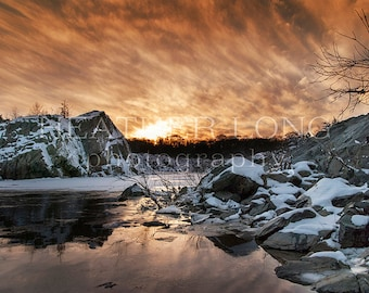 Winter Scape - Nature Photography, Wall Art Prints, Fine art photography print, Limited Edition