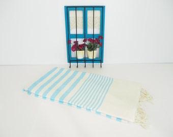 Gorgeus Aqua Turkish Towel,HQ Aqua Turkish Towel,Premium Turkish Towel,Aqua Turkish Beach Bath Towel,swim towel,premium Turkish Towel