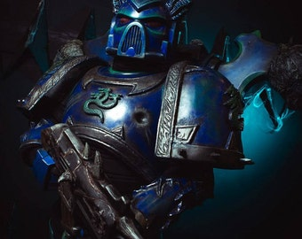 Space Marine Cosplay Made to order cosplay & paintball armour Alpha Marine-trooper cosplay and paintball armour