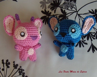 Stitch and crochet Angel