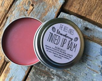 Strawberry Tinted Lip Balm