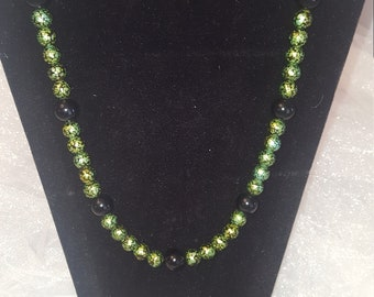 Hand Made Necklace Bracelet and earring set