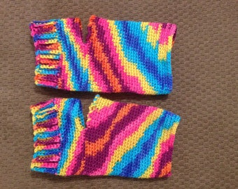 Bright yoga socks