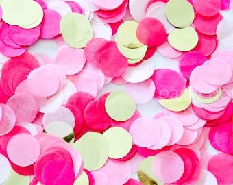 Pinks & Gold Confetti Mix