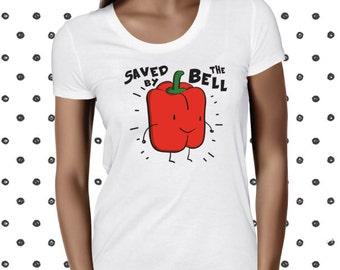 Cute Veggie - Bell Pepper - Vegan T Shirt - Vegan Tshirt - Vegan Tee - Womens Vegan Clothing - Healthy - Funny Tee - Vegetarian - Plantbased