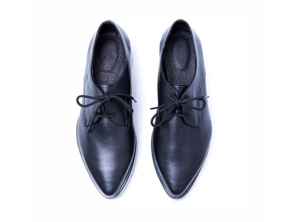 Shoes Shoes Oxford Black Shoes Up Shoes Women Platform Hipster Oxfords Shoes For Oxford Stylish Custom Leather Lace Shoes Heels zcq7drWq