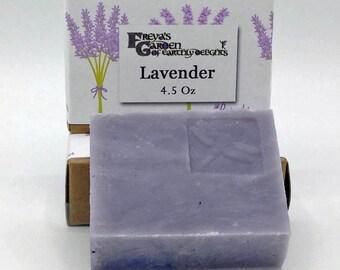 Lavender Soap,Vegan Soap, Essential Oil, Natural Soap,Shea Butter Soap,Bar Soap, Artisan Soap,Handmade Soap,non-GMO Soap,Beauty Bar,Bath Bar