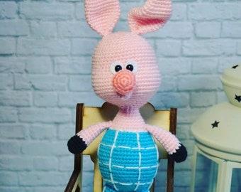 Piglet Crochet piglet Amigurumi Amigurumi piglet Piggy Crochet Toy Amigurumi toy First toy Piglet doll