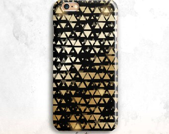 iPhone 8 Case, Black and Gold iPhone 7 Case, iPhone 6S Case, Geometric iPhone 6 Plus, iPhone 5S Case, Gold iPhone 7 Case, iPhone 8 Plus case