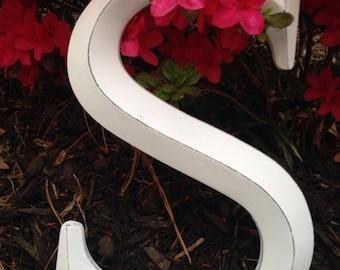 SALE SALE SALE Large Letter/ Wall Decor/ Wedding Decor/ Wedding Prop/ Shabby Chic Wall Decor/ Nursery Letters/ Personalized Decor - Letters