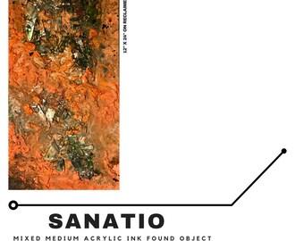 Sanatio - Original Abstract Painting - 1 of 1